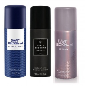 Buy David Beckham Pack Of 3 - Beyond, Classic Blue And Instinct - Nykaa