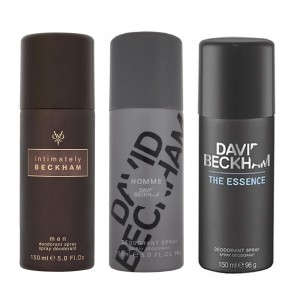 Buy David Beckham Pack Of 3 - Homme, Intimately Man And Essence - Nykaa