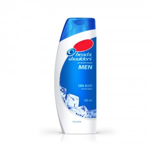 Buy Head & Shoulders Cool Blast Shampoo For Men - Nykaa