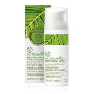 Buy The Body Shop Nutriganics Smoothing Day Cream - Nykaa
