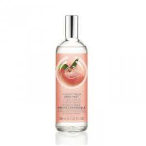 Buy The Body Shop Vineyard Peach Body Mist - Nykaa
