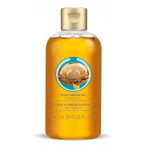 Buy The Body Shop Wild Argan Oil Shower Gel - Nykaa
