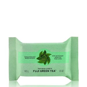 Buy The Body Shop Fuji Green Tea Exfoliating Soap - Nykaa