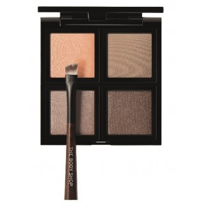 Buy The Body Shop Down To Earth Eyeshadow Quad Brown - Nykaa
