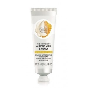 Buy The Body Shop Almond Milk & Honey Calming & Protecting Hand Cream - Nykaa