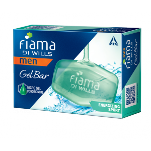 Buy Fiama Di Wills Men Energizing Sport Gel Bar - Nykaa