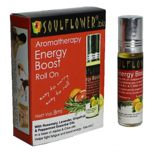 Buy Soulflower Aromatherapy Energy Roll On - Nykaa