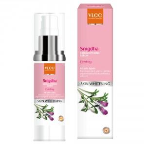 Buy VLCC Snigdha Skin Whitening Serum Comfrey - Nykaa