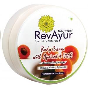 Buy RevAyur Body Cream With Apricot & Vitamin E - Nykaa
