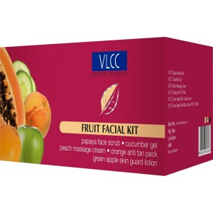 Buy VLCC Fruit Single Facial Kit  - Nykaa