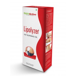 Buy NutroActive Lipolyzer Fat Burning Oil For Slimming & Inch Loss - Nykaa
