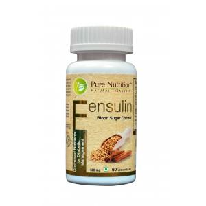 Buy Pure Nutrition Fensulin 60 Capsules - Nykaa