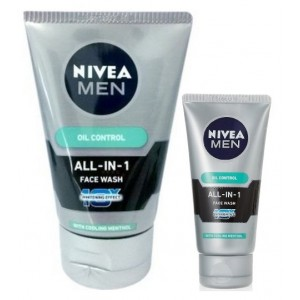 Buy Nivea Men Oil Control All In One Face Wash + Free All In One Face Wash - Nykaa
