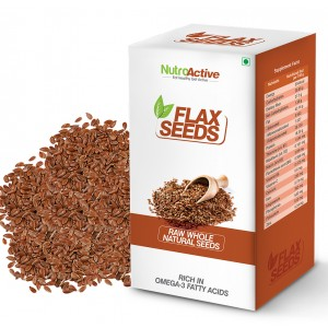Buy NutroActive Flax Seeds - Nykaa