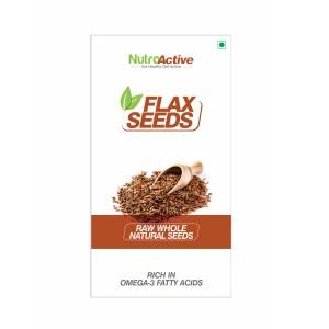 Buy NutroActive Flax Seeds - Nykaa