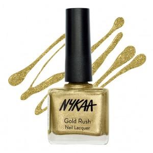 Buy Nykaa Gold Rush Nail Lacquer - Nykaa