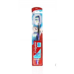Buy Herbal Colgate 360 Floss-Tip Toothbrush - Soft - Nykaa