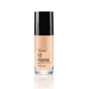 Buy The Body Shop Fresh Nude Foundation - Fiji Sand 026 - Nykaa