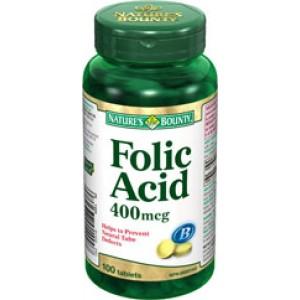 Buy Nature's Bounty Folic Acid 400 Mcg - Nykaa