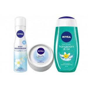 Buy Nivea Frangipani Petals Combo - Nykaa