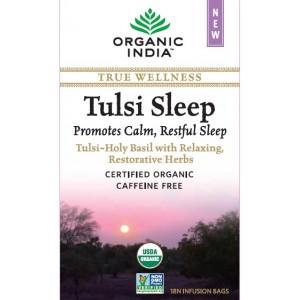 Buy Organic India Tulsi Sleep Tea (18 Tea Bag) - Nykaa