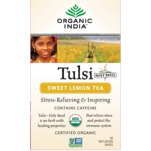 Buy Organic India Tulsi Sweet Lemon Tea - Nykaa