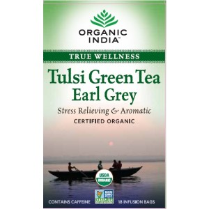 Buy Organic India Tulsi Earl Grey Tea (18 Tea Bag) - Nykaa
