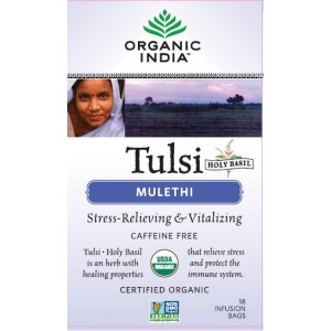 Buy Herbal Organic India Tulsi Mulethi - Nykaa