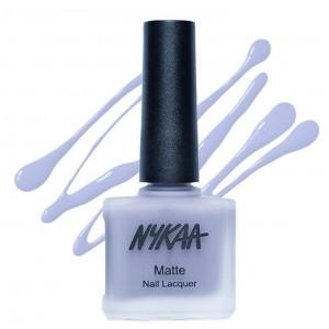 Buy Nykaa Matte Nail Enamel - Blueberry Frosting - Nykaa