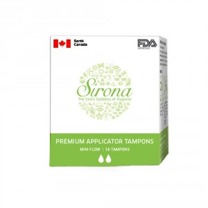 Buy Herbal Sirona Premium Applicator Tampons - Mini Flow - Nykaa