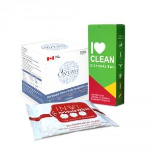 Buy Sirona Women Intimate Hygiene Combo 10 - Nykaa