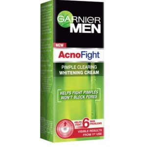 Buy Garnier Men Acno Fight Pimple Clearing Whitening Cream - Nykaa