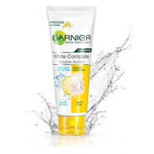 Buy Garnier White Complete Double Action Face Wash - Nykaa