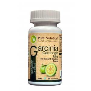 Buy Pure Nutrition Garcinia Cambogia Ultra 90 Capsules - Nykaa