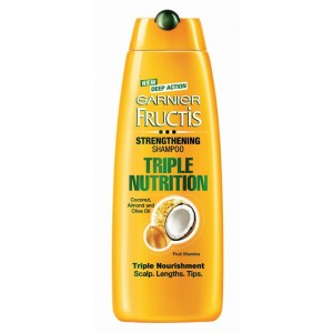 Buy Garnier Fructis Triple Nutrition Shampoo (Rs.20 Off) - Nykaa