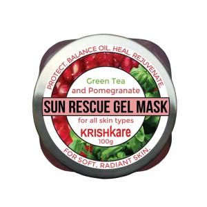 Buy Krishkare Sun Rescue Gel Mask - Nykaa