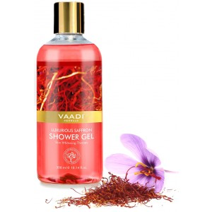 Buy Vaadi Herbals Luxurious Saffron Shower Gel - Nykaa