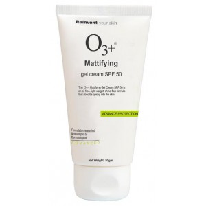 Buy O3+ Mattifying Gel Cream SPF 50 - Advance Protection - Nykaa
