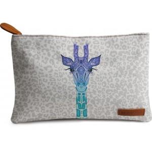 Buy DailyObjects Giraffe On Leo Print Carry-All Pouch Medium - Nykaa