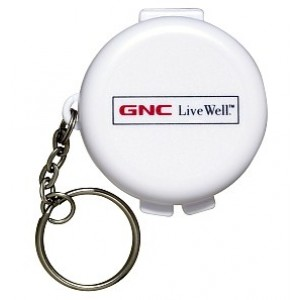 Buy Herbal Gnc Keychain Pill Box 1S - Nykaa