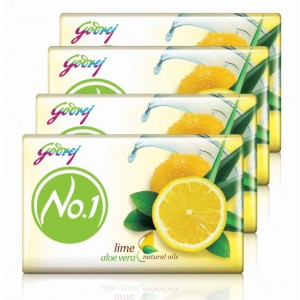 Buy Godrej No.1 Lime & Aloe Vera Soap (Buy 3 Get 1 Free) - Nykaa