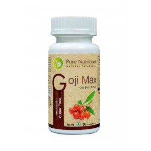 Buy Pure Nutrition Goji Max 60 Capsules - Nykaa