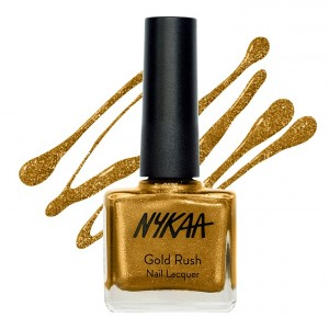 Buy Nykaa Gold Rush Nail Lacquer - Gold Mine 113 - Nykaa