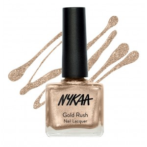 Buy Herbal Nykaa Gold Rush Nail Lacquer - Gold Soul 121 - Nykaa