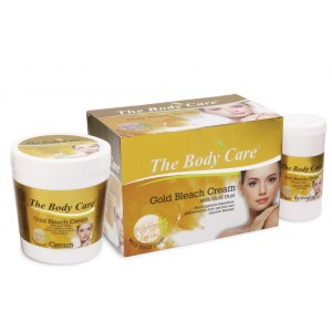 Buy The Body Care Gold Bleach Cream With Gold Dust - Nykaa