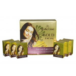 Buy Vedic Line Gold Facial Kit - Nykaa