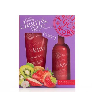 Buy Grace Cole Fruit Works Clean & Spritz Strawberry & Kiwi - Nykaa