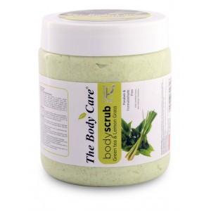 Buy The Body Care Green Tea & Lemon Grass Body Scrub - Nykaa