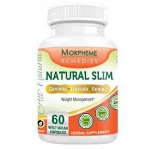 Buy Morpheme Remedies Natural Slim - Garcinia, Triphala, Guggul For Weight Loss - 500mg Extract - Nykaa