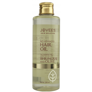 Buy Jovees Bhringraj & Olive Hair Oil - Nykaa